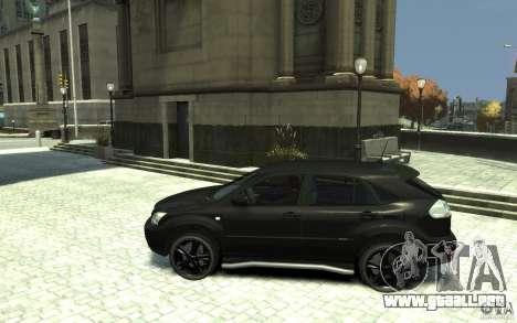 Lexus RX 400h para GTA 4 left
