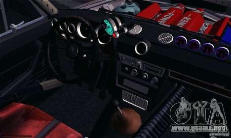 VAZ 2106 Turbo para la visión correcta GTA San Andreas