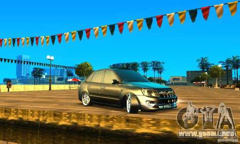 Lada Granta v2.0 para GTA San Andreas left