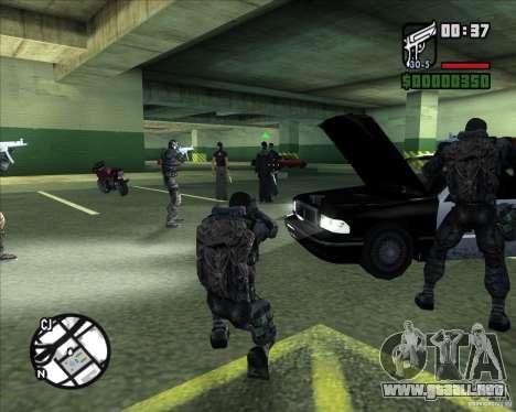 Grupo de acosadores deuda para GTA San Andreas sexta pantalla