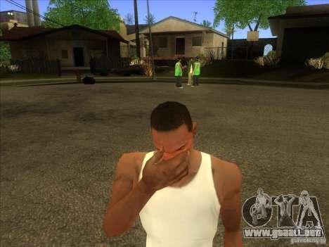 Facepalm Mod para GTA San Andreas tercera pantalla