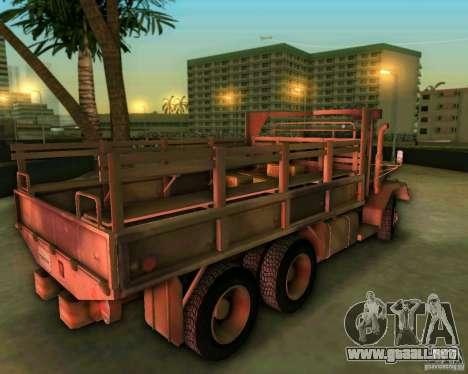 M352A para GTA Vice City vista lateral izquierdo