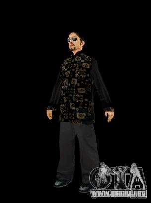 Skinpak Yakuza para GTA San Andreas tercera pantalla