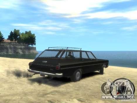 Plymouth Belvedere Wagon 1965 v1.0 para GTA 4 left