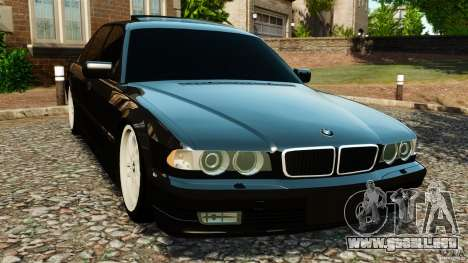 BMW 750iL E38 Light Tuning para GTA 4