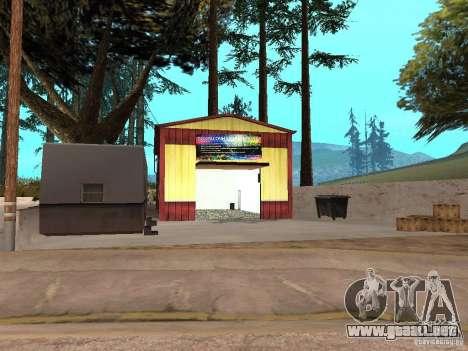 Nuevo taller de pintura en Dillimore para GTA San Andreas