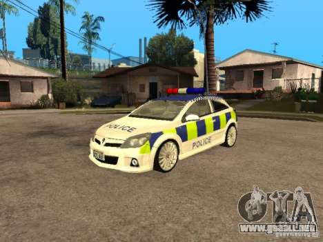 Opel Astra 2007 Police para GTA San Andreas