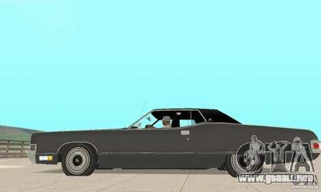 Mercury Marquis 2dr 1971 para GTA San Andreas left
