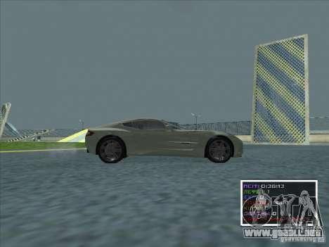 Aston Martin One 77 2011 para GTA San Andreas left
