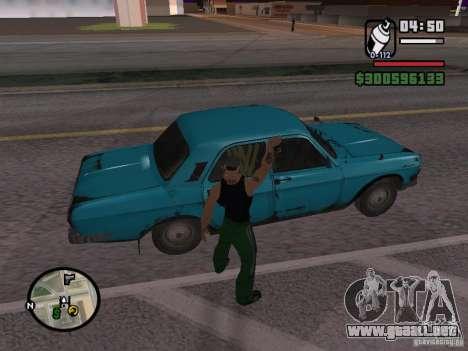 Repintado del actuador para GTA San Andreas sexta pantalla