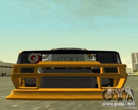 Toyota AE86 Levin para vista lateral GTA San Andreas