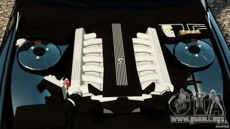 BMW 750iL E38 Light Tuning para GTA 4 vista interior