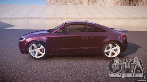 Audi TT RS v3.0 2010 para GTA 4 left