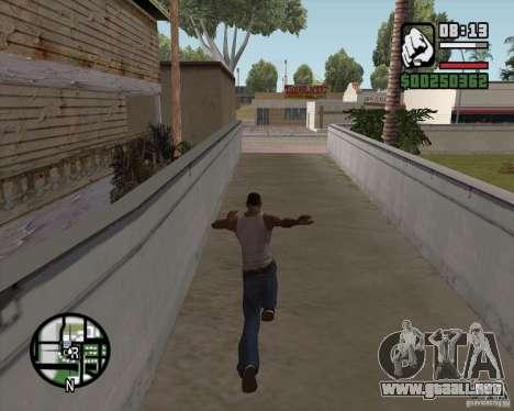 GTA 4 Anims for SAMP v2.0 para GTA San Andreas tercera pantalla
