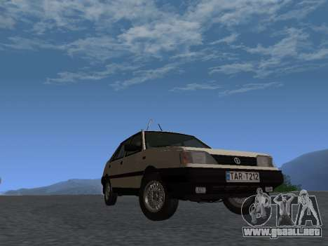 FSO Polonez Atu 1.4 GLI 16v para GTA San Andreas vista posterior izquierda