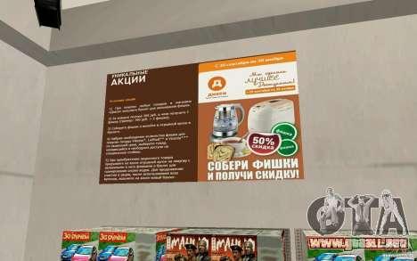 Nueva tienda de Dixie para GTA San Andreas quinta pantalla