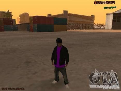 Ballas skins para GTA San Andreas tercera pantalla
