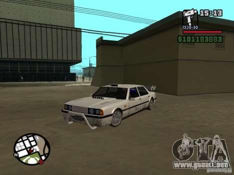 Nuevas piezas para tuning para GTA San Andreas tercera pantalla