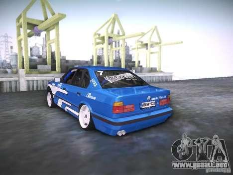 BMW E34 Drift para GTA San Andreas left