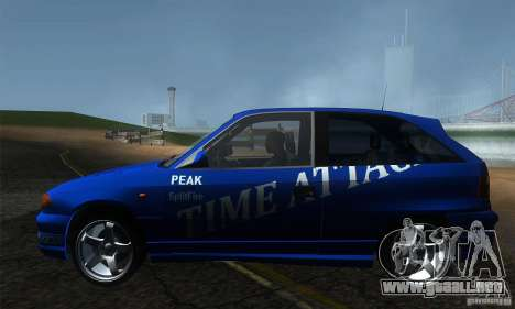 Opel Astra Time Attack para GTA San Andreas left