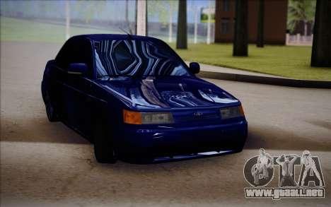 VAZ-2110 para la visión correcta GTA San Andreas