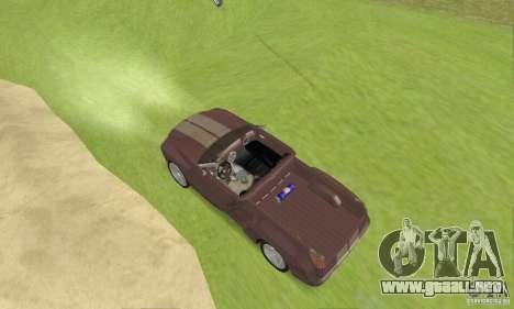 Dodge Sidewinder Concept 1997 para GTA San Andreas vista posterior izquierda