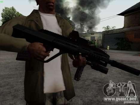 AUG-A3 Special Ops Style para GTA San Andreas tercera pantalla