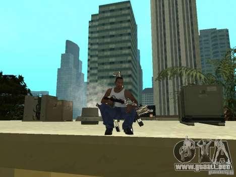 Weapons Pack para GTA San Andreas sexta pantalla