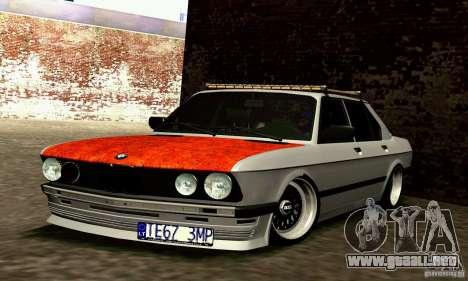 BMW E28 525e RatStyle No1 para GTA San Andreas