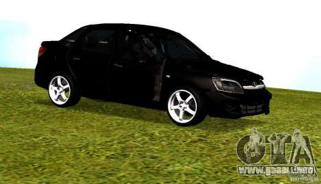 LADA Granta v2.0 para visión interna GTA San Andreas