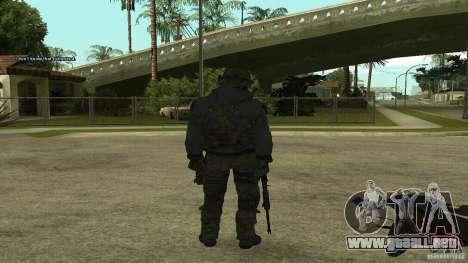 Roach from CoD MW2 para GTA San Andreas segunda pantalla