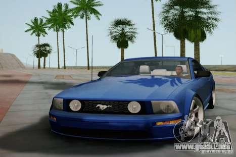 Ford Mustang Twin Turbo para GTA San Andreas left