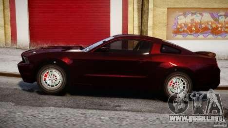 Ford Shelby GT500 2010 para GTA 4 vista interior