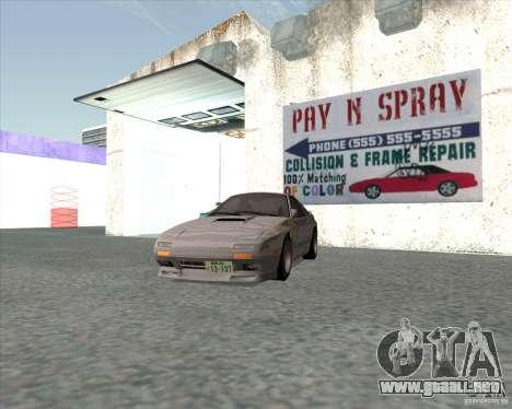 Mazda Savanna RX-7 FC3S para GTA San Andreas