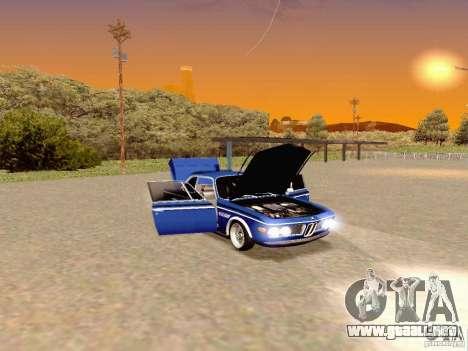BMW 30 CSL Drift para la visión correcta GTA San Andreas