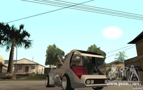 Lil Redd Wrecker para GTA San Andreas vista hacia atrás