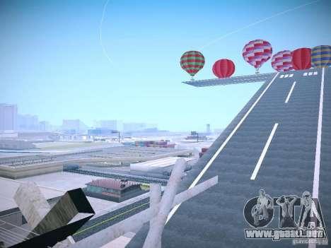 La posibilidad de reemplazar timecyc en SA: MP para GTA San Andreas sucesivamente de pantalla
