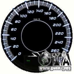 Velocímetro IV (piel 10) para GTA 4