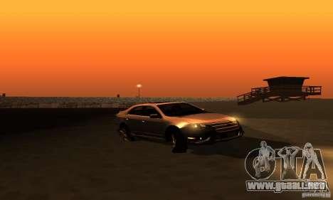 Ford Fusion Sport para la visión correcta GTA San Andreas