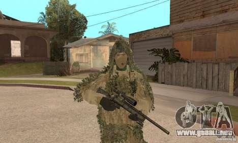 Francotirador de piel para GTA San Andreas