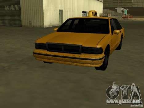 Textura realista de coche original para GTA San Andreas segunda pantalla