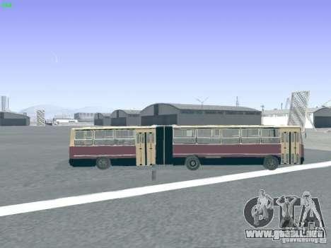 Remolque para Ikarus 280.03 para vista lateral GTA San Andreas