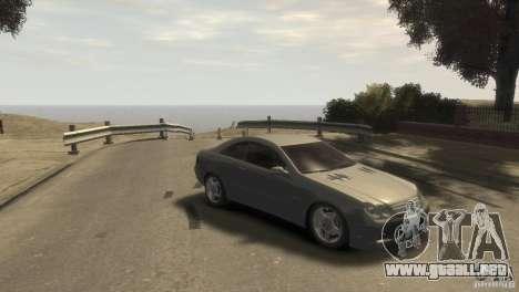 Mercedes-Benz CLK 63 AMG para GTA 4 visión correcta