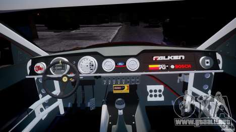 Ford Shelby GT500 2010 para GTA 4 visión correcta