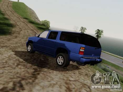 GMC Yukon Denali XL para GTA San Andreas left