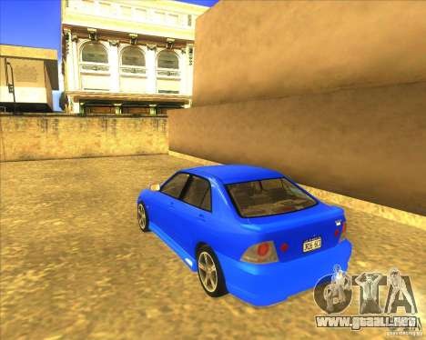 Toyota Altezza RS200 1998 para GTA San Andreas left