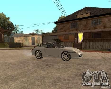 Porsche 911 TARGA para GTA San Andreas vista hacia atrás