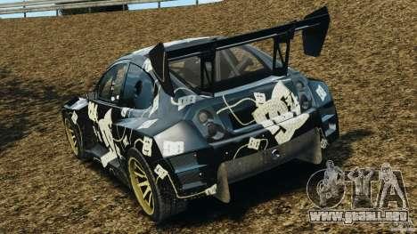 Colin McRae BFGoodrich Rallycross para GTA 4 Vista posterior izquierda