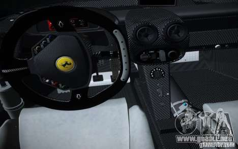 Ferrari FXX Evoluzione para la visión correcta GTA San Andreas