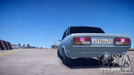 VAZ 2105 v2.0 para GTA 4 left